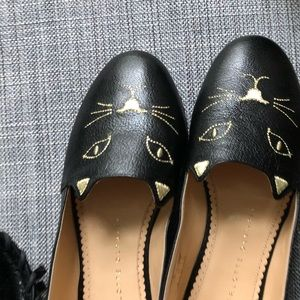 Charlotte Olympia kitty espadrilles